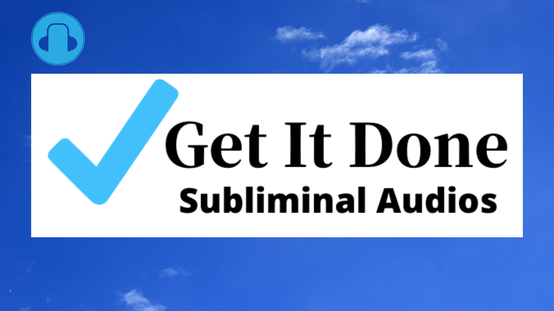 Subliminal Audios,  personalized and professional