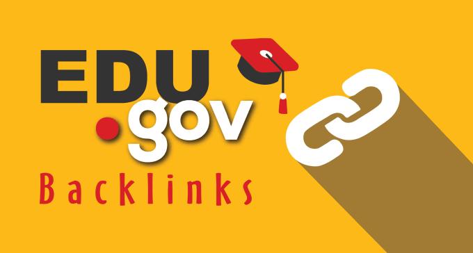 manually Build 20. edu-. gov backlinks excellent website and youtube seo
