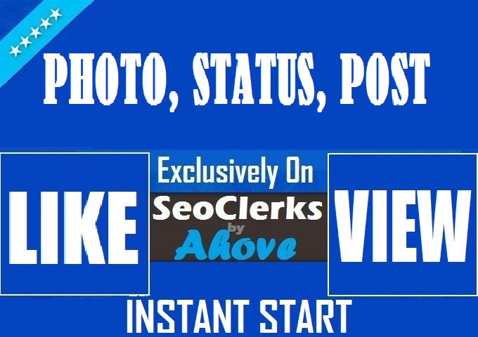Get Instant Status Likes OR Reactions
