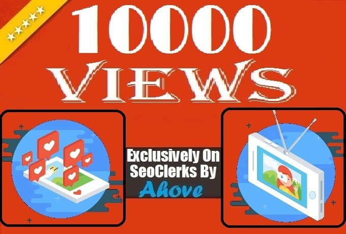 Get Instant 10000 Views In Videos