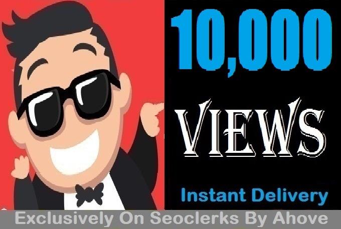 Start Insatnt 10000 Views To Videos