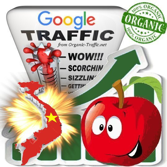 Vietnamese Search Traffic from Google. com. vn with your Keywords