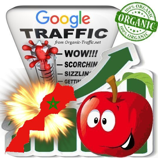 Moroccan Search Traffic from Google. co. ma with your Keywords