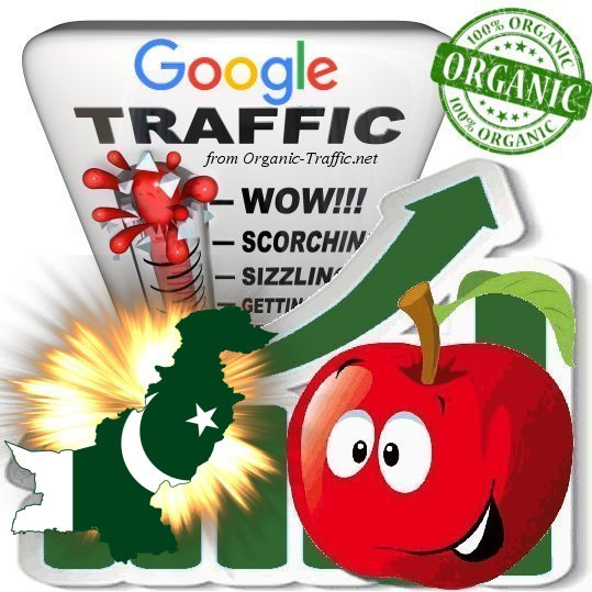Pakistanian Search Traffic from Google. com. pk with your Keyword