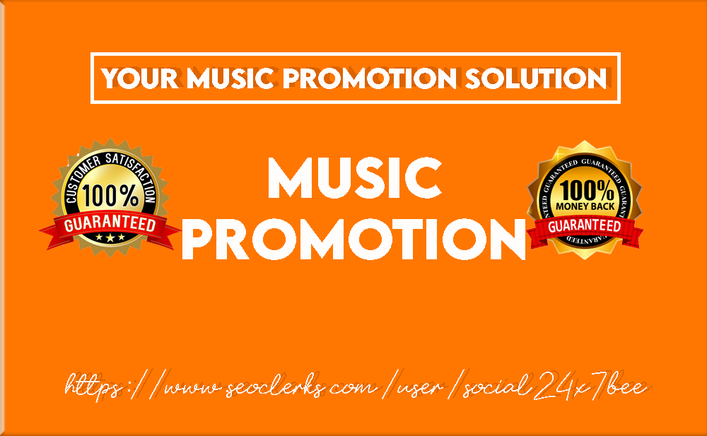 give you eye catching music promotion