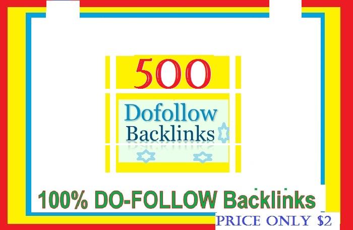 Manage & add 500 + Do-follow Backlinks mix platforms for Your Websites
