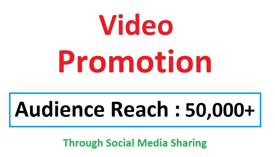 Video Viral Marketing Promotion 50k