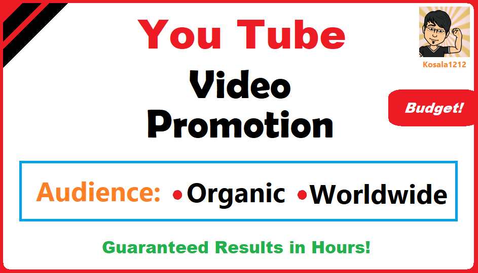 YouTube Video Viral Marketing Budget Package 1