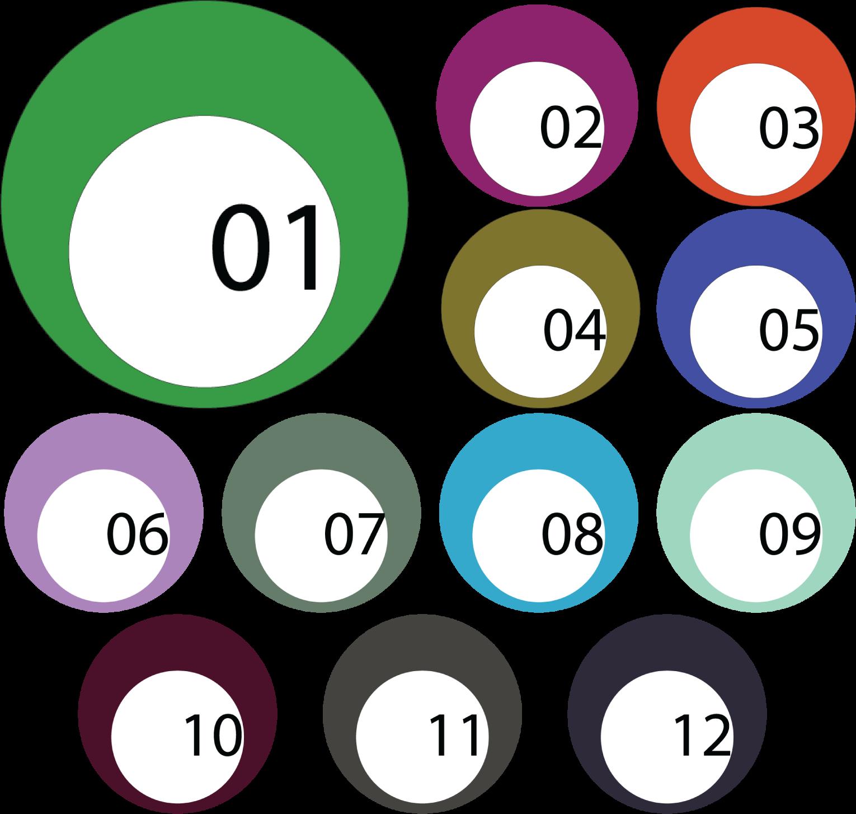Folder Icons Custom Image 1 to 12