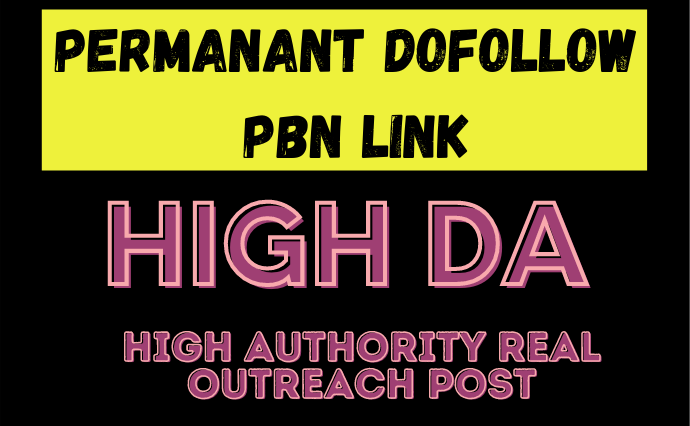 15 High DA PA Dofollow PBN Permanent Link