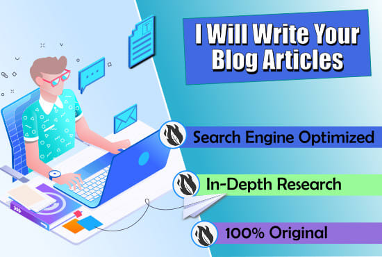 Be Your SEO Article Writer Or Blog Content Writer