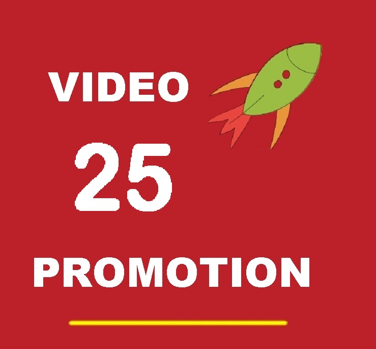 share your video MANUALLY to the best TOP 25 BIG social Pages