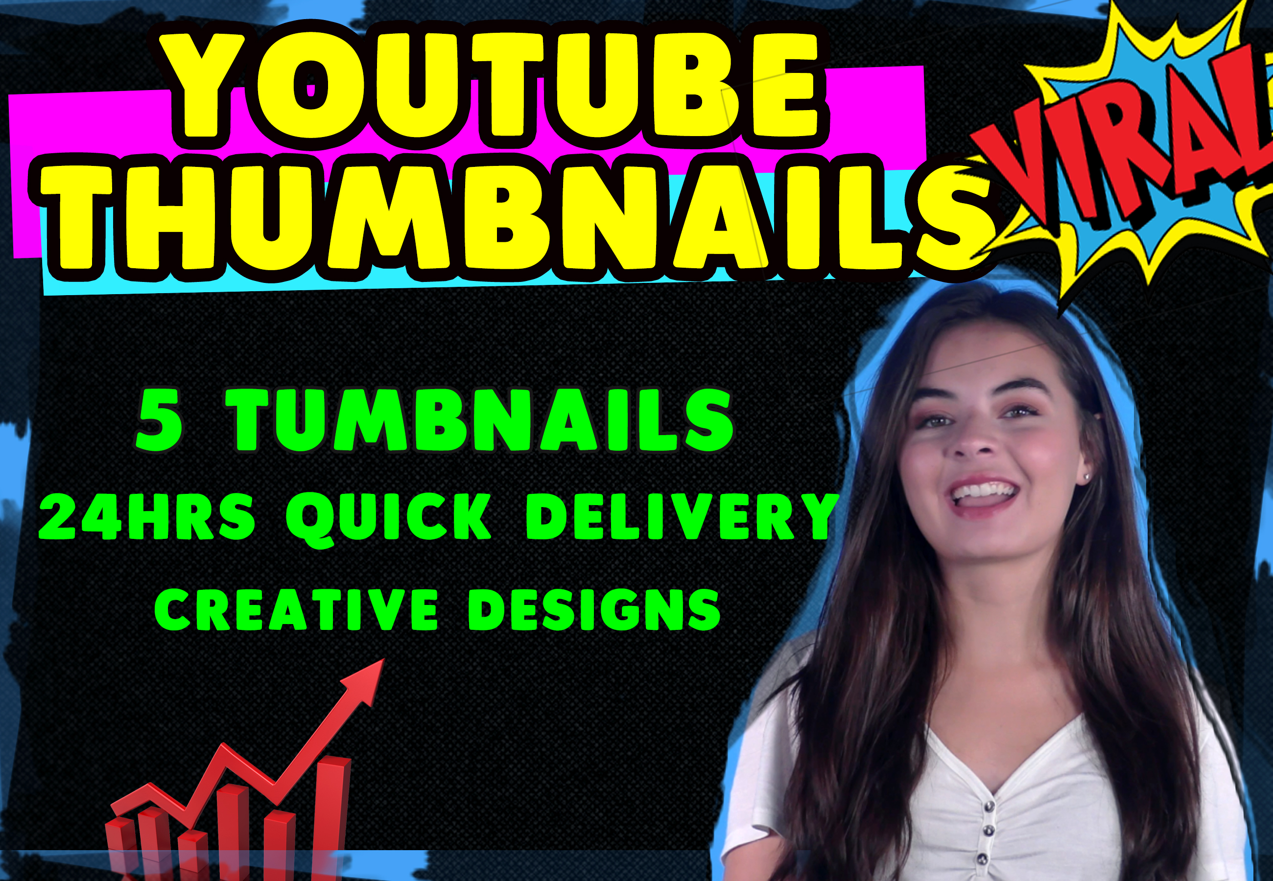 Design Eye catching YouTube Thumbnails