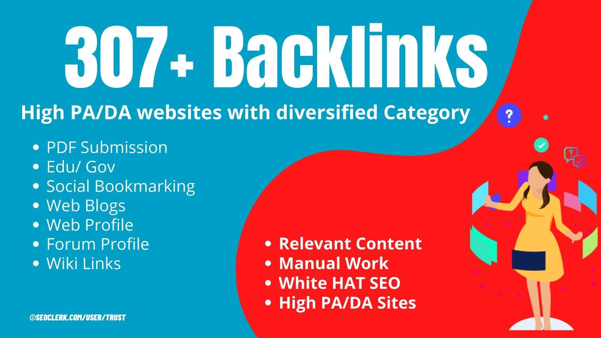 All in One 307+ Google & Moz friendly Linking domain to increase domain authority of your website