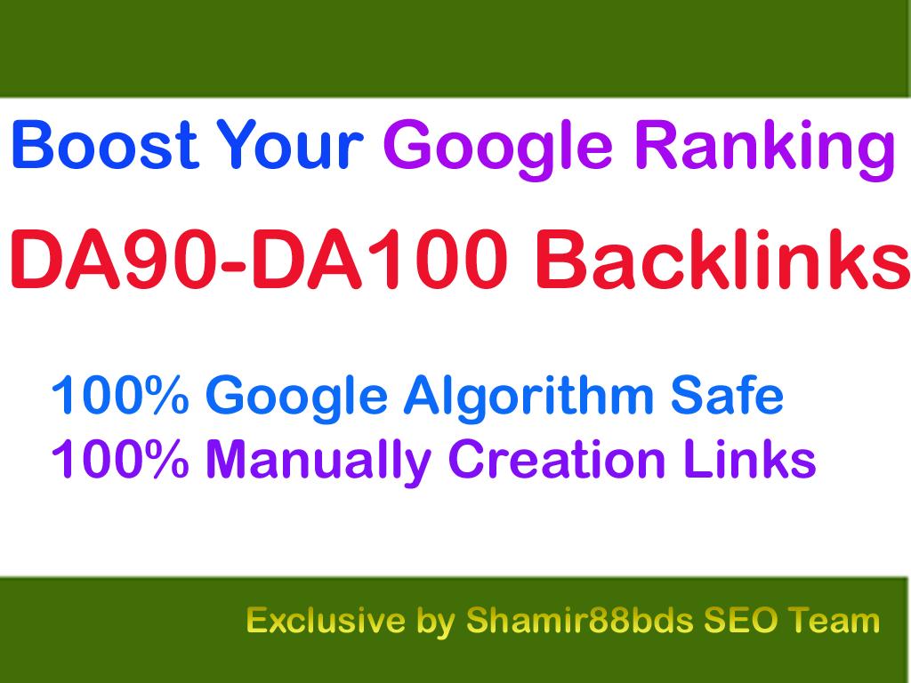 Premium 15 DA90-DA100 Backlinks to Boost Your Google Ranking