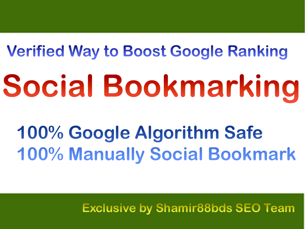 Verified 105 Dofollow Social Bookmarking to Rank Higher