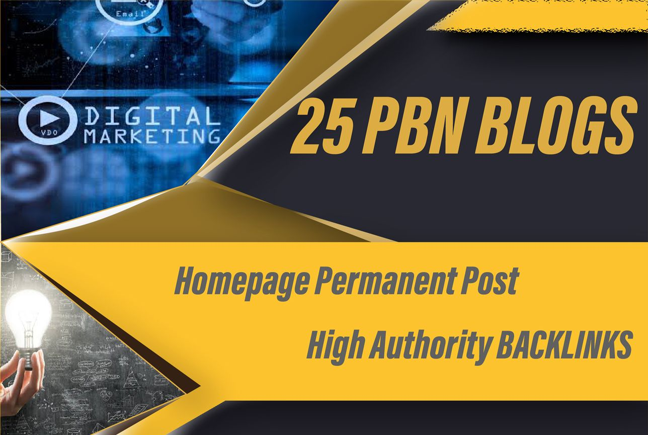 Create Premium 25 Pbn On High Metrics Solution To Boost Your Rankings Fast
