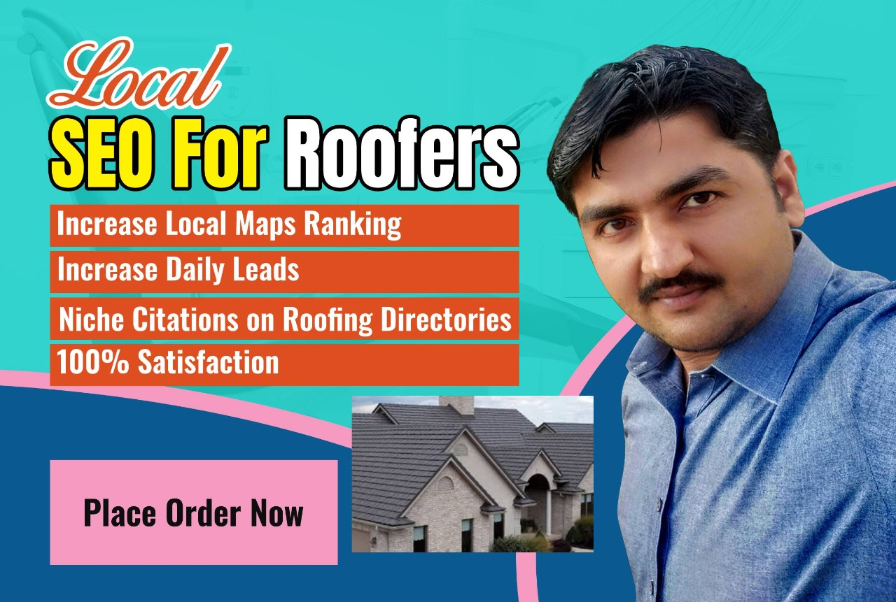 I will create 25 niche citation for roofing solution SEO