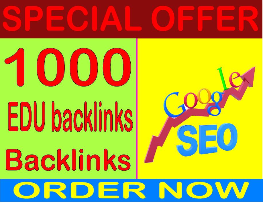Top SEO Service - Boost Site Alexa Rank with 1000 edu backlinks