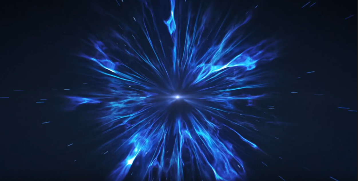 I will create this Hyperspace Explosion Logo Intro