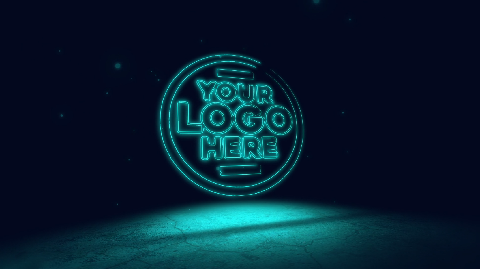 I will create this Neon video intro
