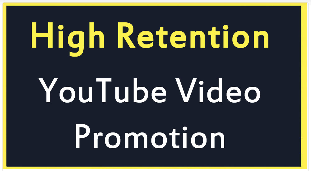 High Quality YouTube Video Promotion and Marketing fast