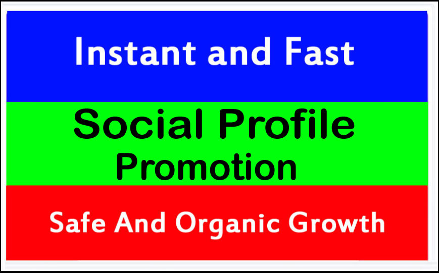 Safe Social Profile Account Promotion and Marketing