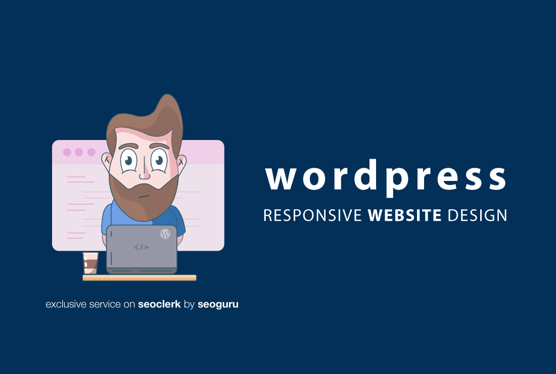 Create A Professional and Responsive Wordpress Website