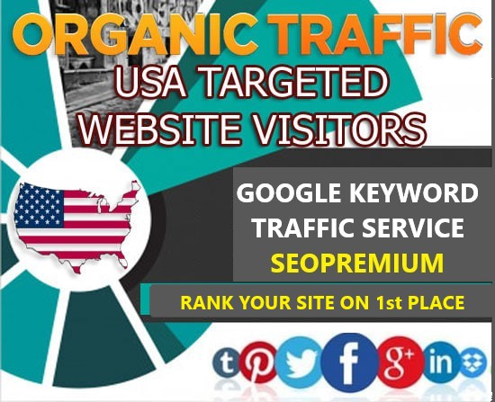 50000+ Real Google search keyword visits in a month