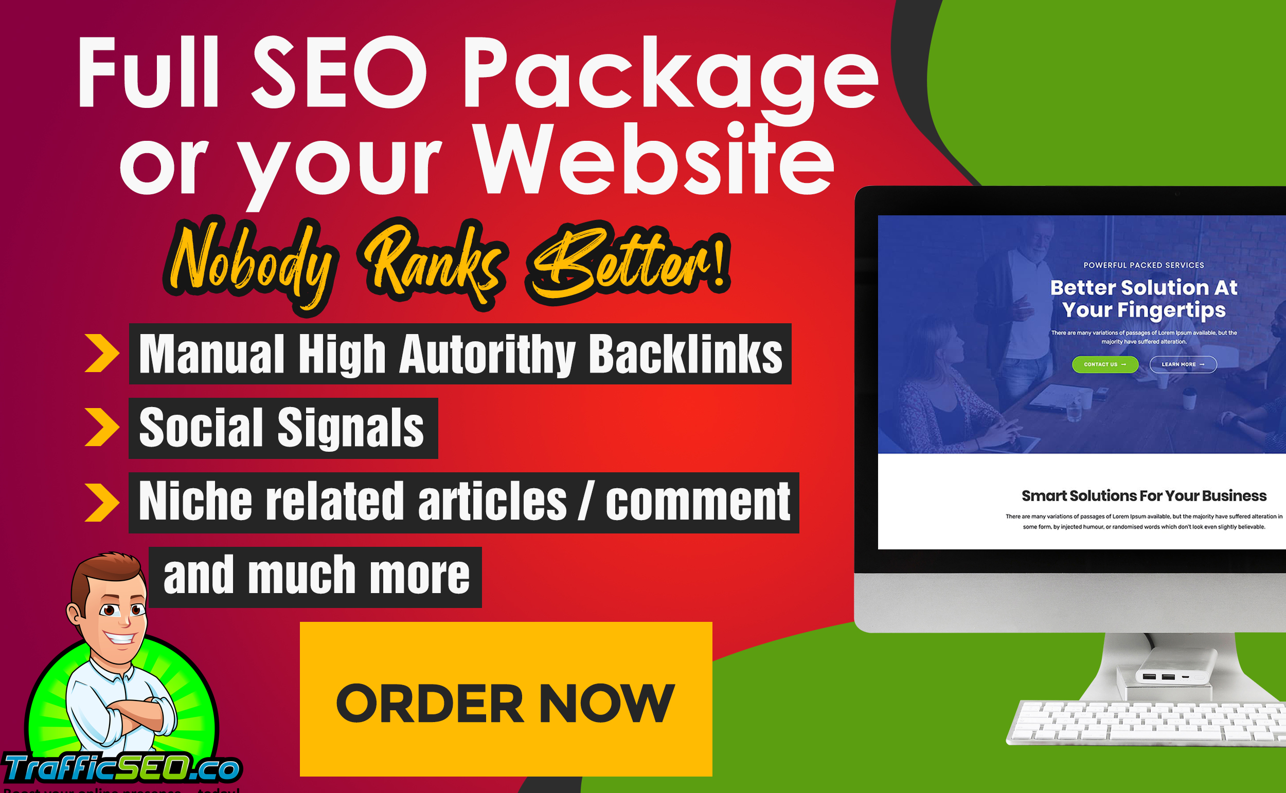 BOOST your WEBSITE to the HEAVEN of SEO - Complete SEO Package