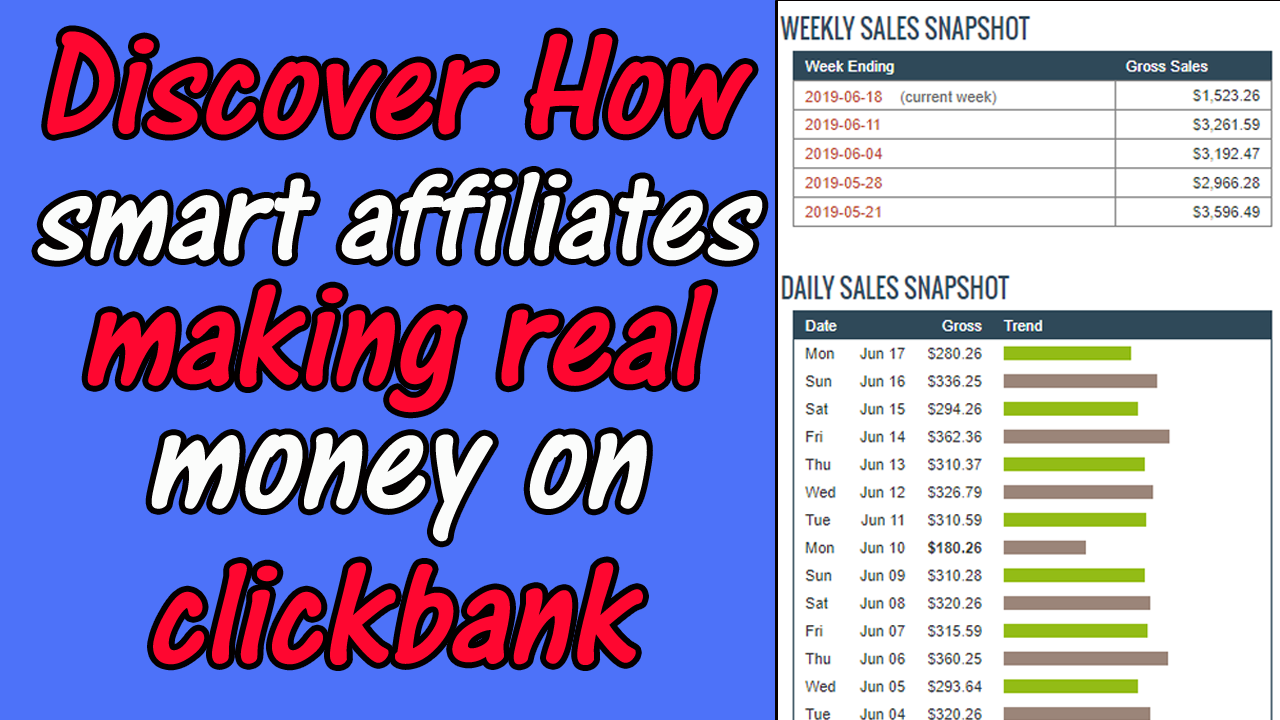 Show You How To Make 300 Per Day With CLICKBANK