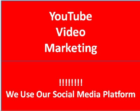 YouTube Video marketing on Social Media