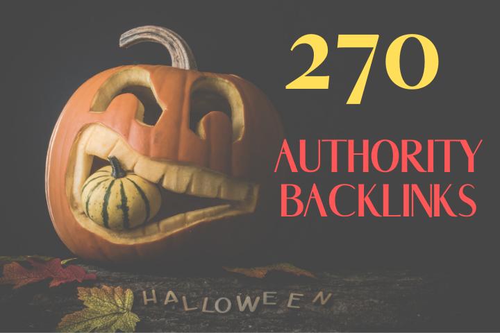 Do 270 Authority Backlinks And 20 EDU Backlinks For Google Ranking