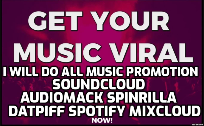 Get All Music PROMOTION Here Real