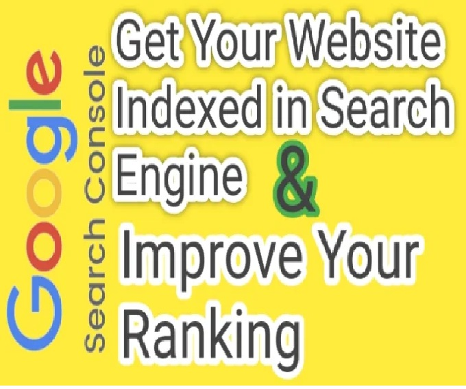 get your website indexed in google and submit to all search engines