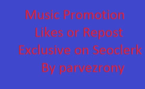 Get 1000 Music promotion Start Instant