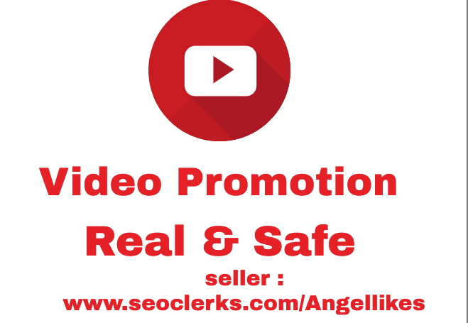 Receive High Quality watched time and safe Guarantee Of video promotion