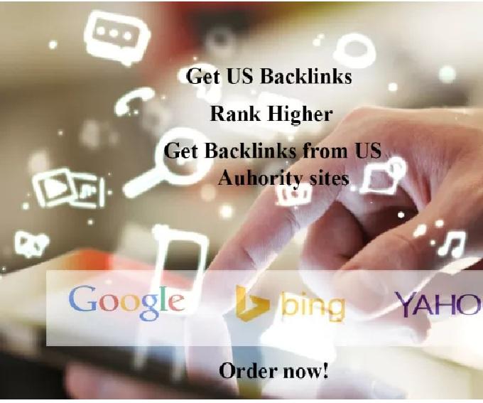 create twelve 12 USA authority backlinks plus bonus