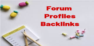 200+ Forum profiles backlinks from high quality forums