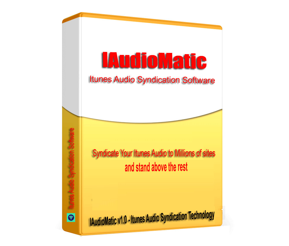 IAudioMatic - Itunes Audio Album SEO link building & Syndication Software V1.0.1