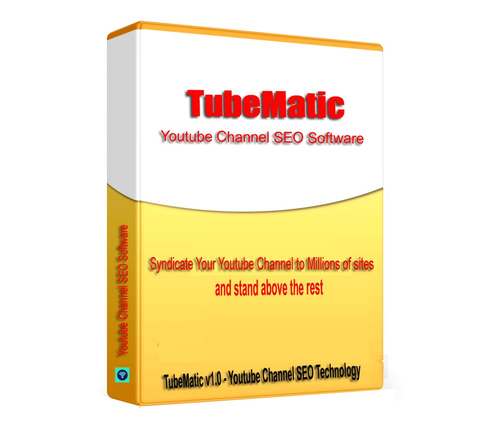 TubeMatic - TubeMatic Channel SEO Backlink builder Software V1.0.1