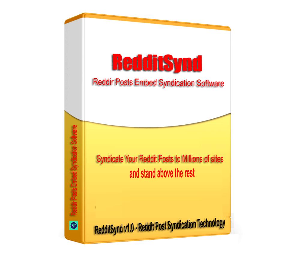 RedditSynd - Reddit Posts Embed Syndication Software V1.0.1