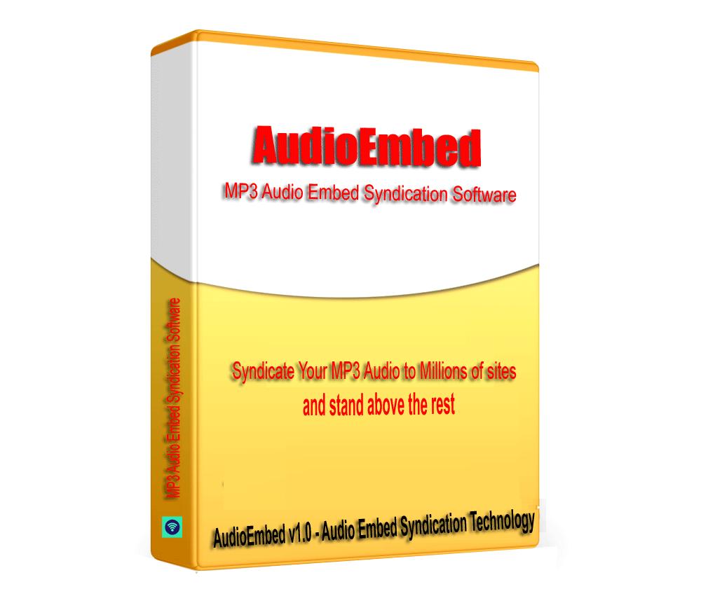 AudioEmbed - SoundCloud MP3 Audio Embed Syndication Software V1.0.1