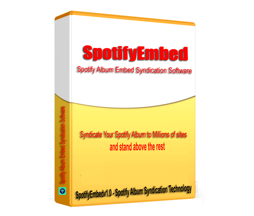 SptifyEmbed - Sptify Artist Audio Album SEO Embed Syndication Software V1.0.1