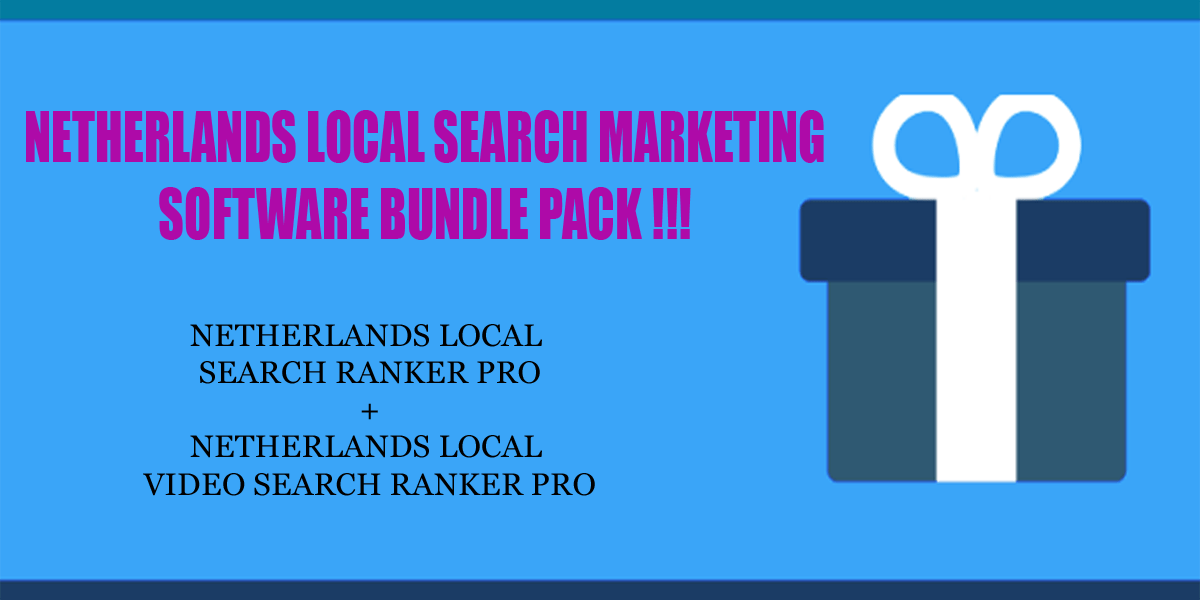 Netherlands local search ranker software bundle pack
