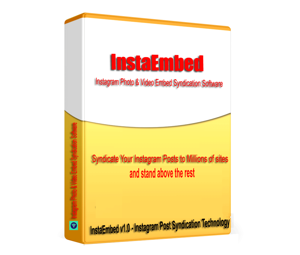 InstaEmbed - Instagram Photo & Video Embed Syndication Software V1.0.1