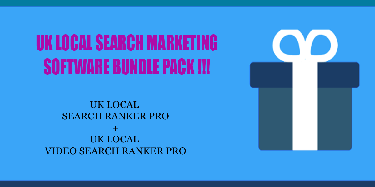 UK local search ranker software bundle pack