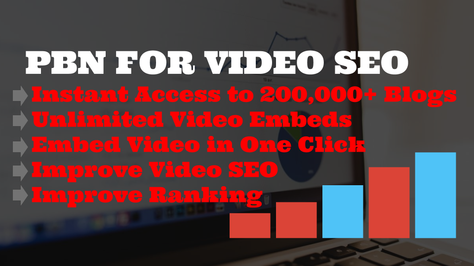PBN Pro  EARN MONEY BY RESELLING YOUTUBE VIDEO EMBEDS to over 200,000+ blogs