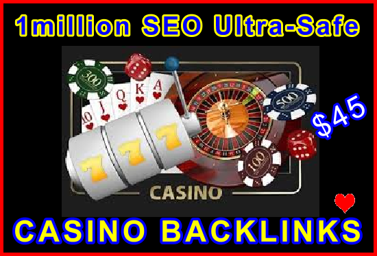 1million SEO Ultra-Safe Casino Backlinks