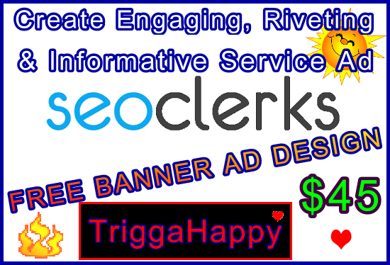 Create an Engaging,  Riveting & Highly Informative Monster Backlinks Service Ad - FREE BANNER